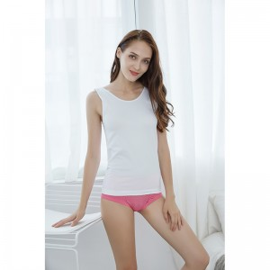 factory Outlets for Panties White Yoga Woman Underwear - White suspender top – Yubo Garments