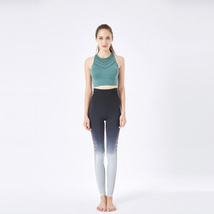 Sport bra & yoga wear Gray-green