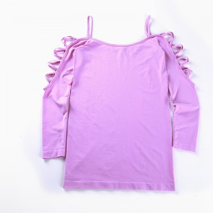 Sling long-sleeved top