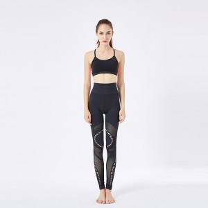 Sport bra & yoga wear black